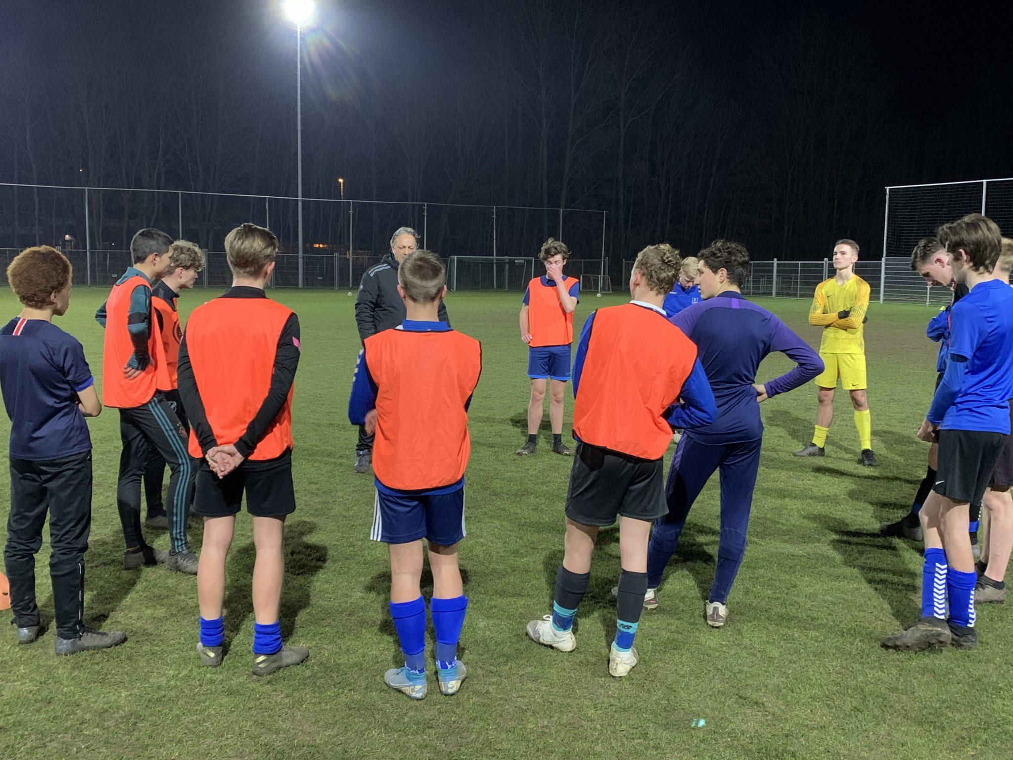 Begeleiding jeugdtrainers